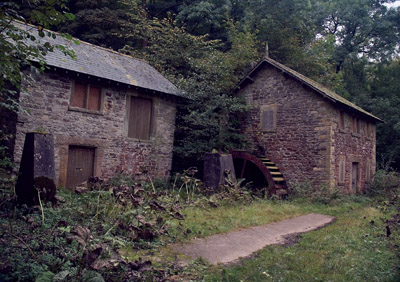 Forgotten water mill, Shacklow Mill